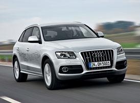 Audi Q5 hybrid quattro: Nejlehčí hybridní SUV na trhu