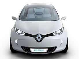 Renault může elektromobil pojmenovat Zoe