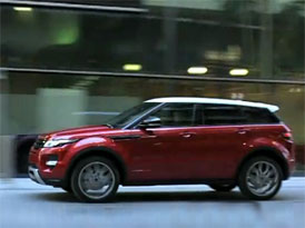 Video: Range Rover Evoque � P�tidve�ov� verze ve m�st�