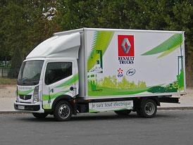 Renault Trucks: Hybridy i elektrické nákladní vozy