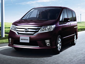 Nissan Serena: Nový minivan pro Japonsko
