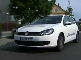 Video: Volkswagen Golf blue e-motion – Pouze na elektřinu