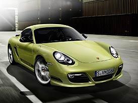 Porsche Cayman R: Odlehčený vrchol řady