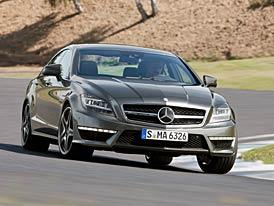 Mercedes-Benz CLS 63 AMG: Nový motor v novém CLS