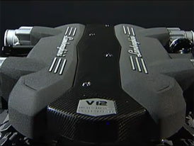 Video: Lamborghini - Nov� motor a jeho mont�