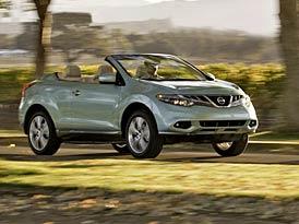 Nissan Murano CrossCabriolet: Japonská avantgarda