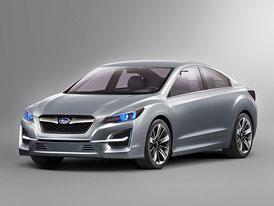 Subaru Impreza Design Concept: Krása bude