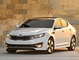 Kia Optima Hybrid: Full hybrid střední třídy se 152 kW