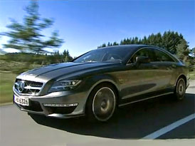 Video: Mercedes-Benz CLS 63 AMG – Vrchol řady