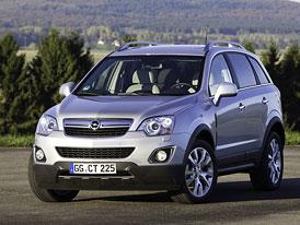 Opel Antara 2011: Kosmetické a technické retuše