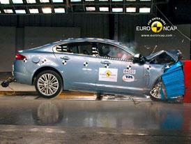 Euro NCAP 2010:  Jaguar XF � �ty�i hv�zdy pro aristokrata