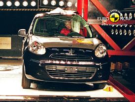Euro NCAP 2010: Nissan Micra � �ty�i hv�zdy