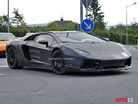 Lamborghini Aventador LP700-4: Projekt 834 dostane karbonový monokok