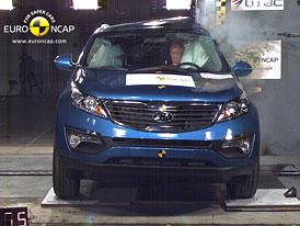 Euro NCAP 2010:  Kia Sportage – Pět hvězd