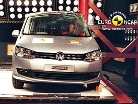 Euro NCAP 2010: VW Sharan a Seat Alhambra – Pět hvězd, stejné chyby, stejné známky
