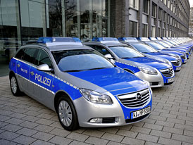 Opel Insignia Sports Tourer: 800 vozů pro policii