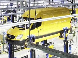 Mercedes-Benz Sprinter 316 LGT – Dodávka na LPG