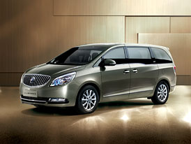 Buick GL8: Obří MPV pro Čínu
