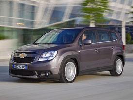 Chevrolet Orlando: První technické údaje