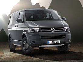 VW Transporter 4Motion Rockton: Allroad pro těžkou práci