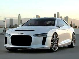 Video: Audi Quattro Concept – Staticky i v pohybu