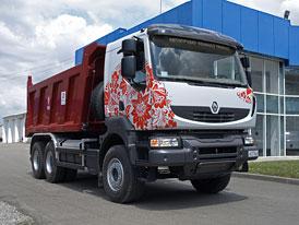 Renault Kerax: Truck of the Year v Rusku