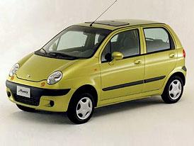 Nové Daewoo Matiz na českém trhu