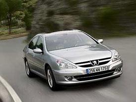Peugeot 607 2,2 HDi Biturbo v prodeji za 1,05 milionu Kč