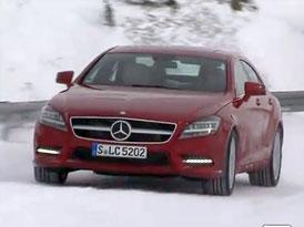 Video: Mercedes-Benz CLS 4Matic – S pohonem všech kol