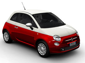Fiat 500 Bicolore na českém trhu za 314.900,-Kč