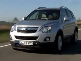 Video: Opel Antara – Modernizované SUV v pohybu