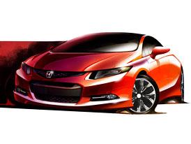 Honda Civic Concept: Premiéra v Detroitu
