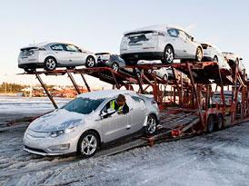 Chevrolet Volt: Dod�vky prodejc�m zah�jeny