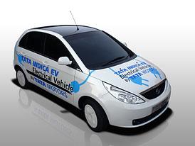 Tata Indica Vista EV: Indick� elektromobil i v Evrop�