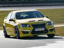 Vauxhall VXR8: Sedan GM proti Mercedesu C 63 AMG a BMW M3