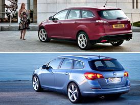 Ford Focus Kombi vs. Opel Astra Sports Tourer: Designový duel