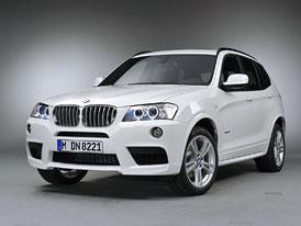 BMW X3: M-paket a nové šestiválce