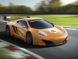 McLaren MP4-12C GT3: N�vrat k z�vod�m v roce 2012