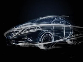 Lancia Ypsilon: První skica, odhalování začíná