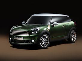 Mini Paceman jde do výroby: Crossover dostal zelenou