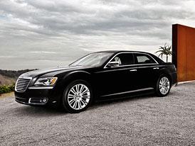 Chrysler 300: Velký sedan na nových snímcích