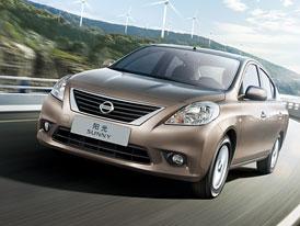 Nissan Sunny: Japonská Thalia má premiéru v Číně