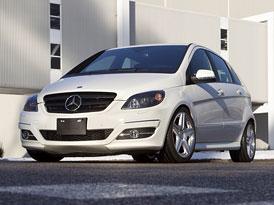 Mercedes-Benz B 55 V8: Malé béčko s velkým motorem