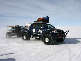 Arctic Trucks Toyota Hilux: Dobytí jižního pólu