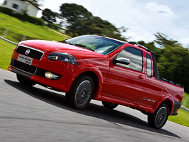 Fiat Strada Sporting: Sport do pampy