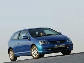 Honda Civic na vrcholu žebříčku spolehlivosti