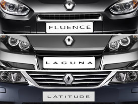 Designový trojboj: Renault Fluence, Laguna, Latitude