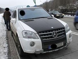 Trpi�ovsk� op�t st�h�n, Mercedes-Benz ML 63 AMG je na prodej