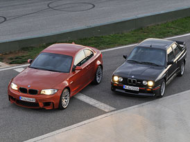 BMW 1 M Coupé vs BMW M3 E30: Designový duel