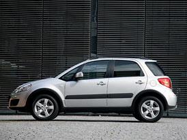 Suzuki SX4: Sleva pro dvoukolky, Alcantara pro čtyřkolky